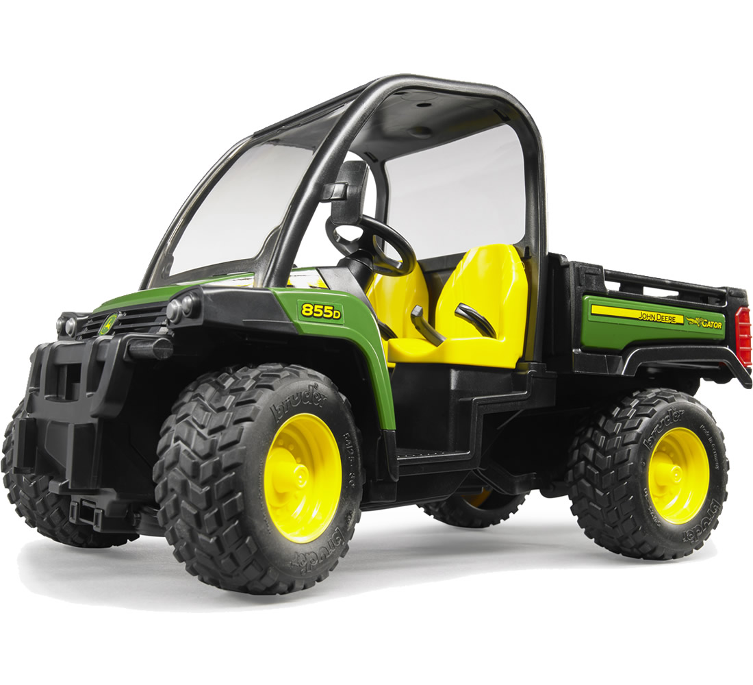 bruder john deere gator xuv 855d buy at bruder store ch. Black Bedroom Furniture Sets. Home Design Ideas