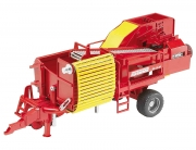 Bruder Grimme SE75-30 potatoe digger with 80 imitation potatoes